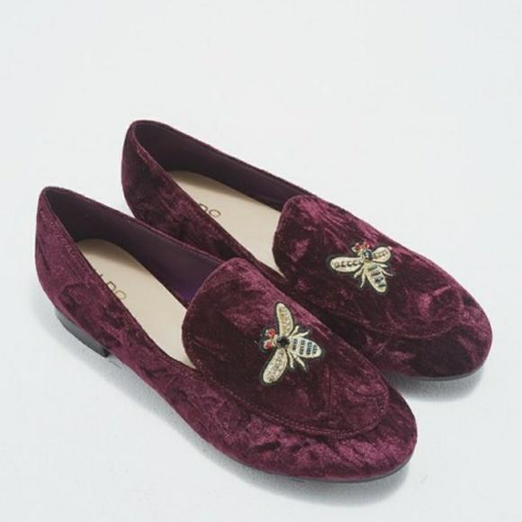 4912be4abf4 Aldo Shoes - 🌷🌷ALDO VELVET BEE LOAFERS🌹🌹